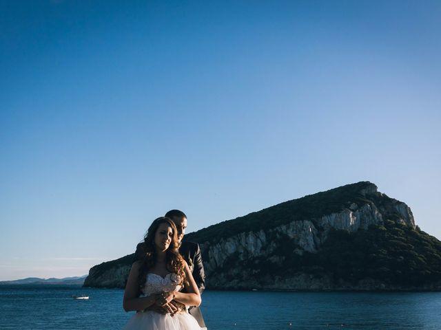 Il matrimonio di Pietro e Sabrina a Golfo Aranci, Sassari 91