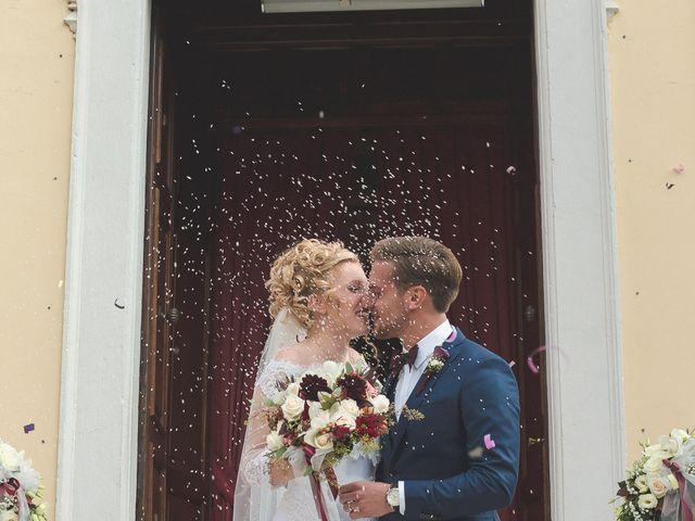 le nozze di Francesco e Caterina