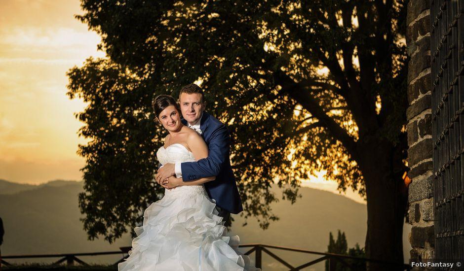 Il matrimonio di Dario e Isabella a Ranica, Bergamo