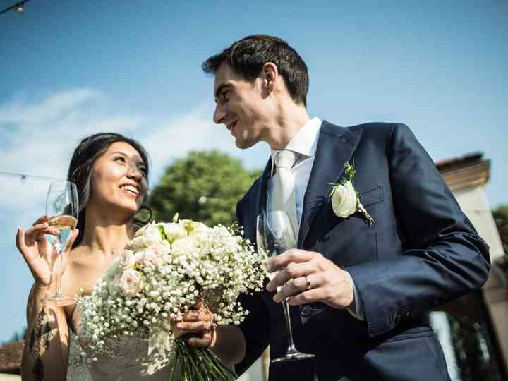 le nozze di Lucy e Davide