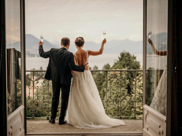 Il matrimonio di Nicolas e Alexandra a Stresa, Verbania 54