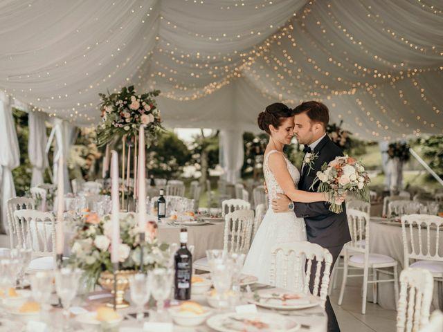 Le nozze di Alexandra e Nicolas