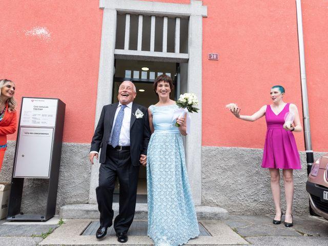 Il matrimonio di Rapo e Andrea a Milano, Milano 26
