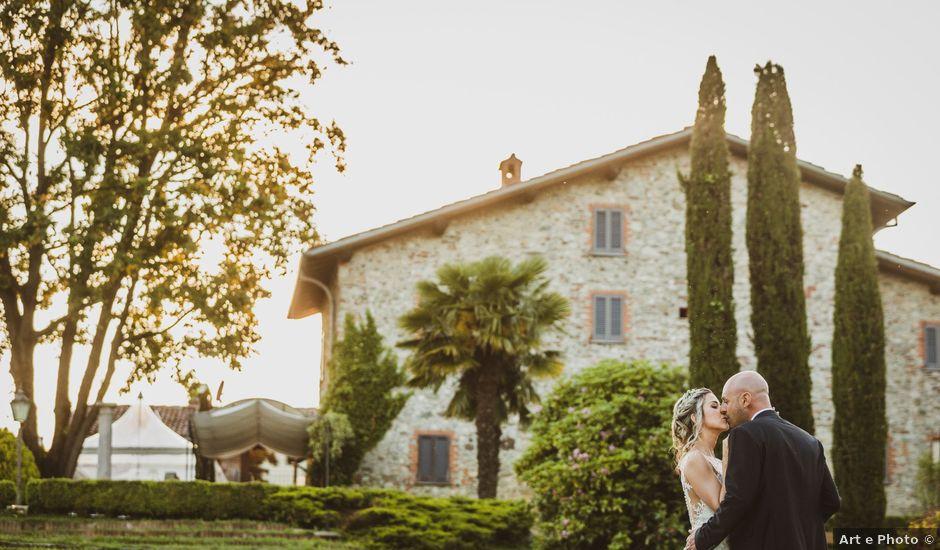 Il matrimonio di Nicola e Stephanie a Montorfano, Como