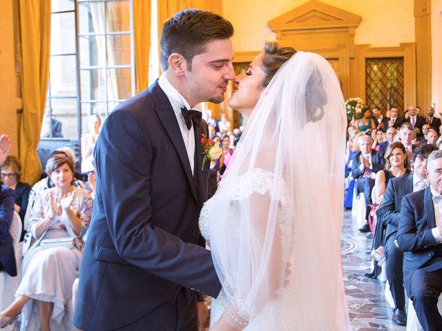 Il matrimonio di Mattia e Gabriella a Frascati, Roma 17