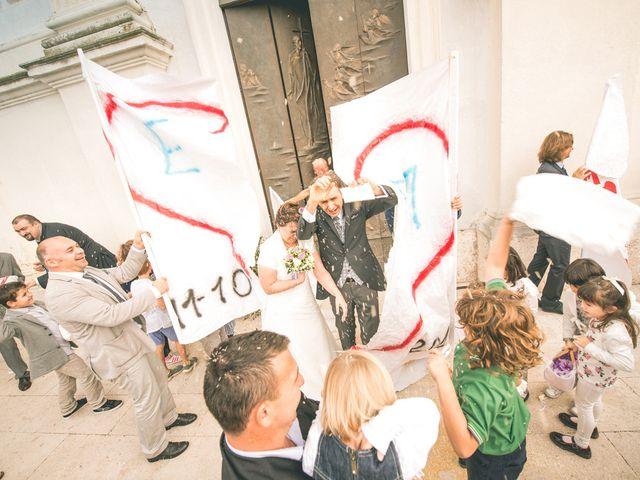 Il matrimonio di Elena e Mirco a Roverchiara, Verona 50