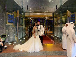 Le nozze di Elisa a Dubai e Daniele