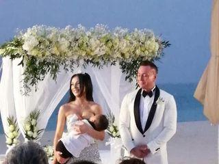 Le nozze di Elisa a Dubai e Daniele  1