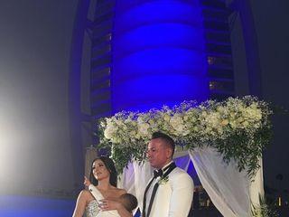 Le nozze di Elisa a Dubai e Daniele  2