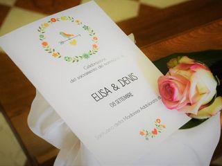 Le nozze di Elisa e Dennis 1