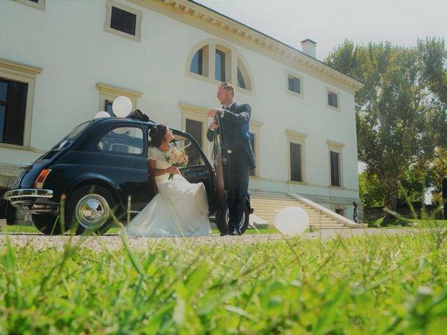 Il matrimonio di Dennis e Elisa a Grancona, Vicenza 10