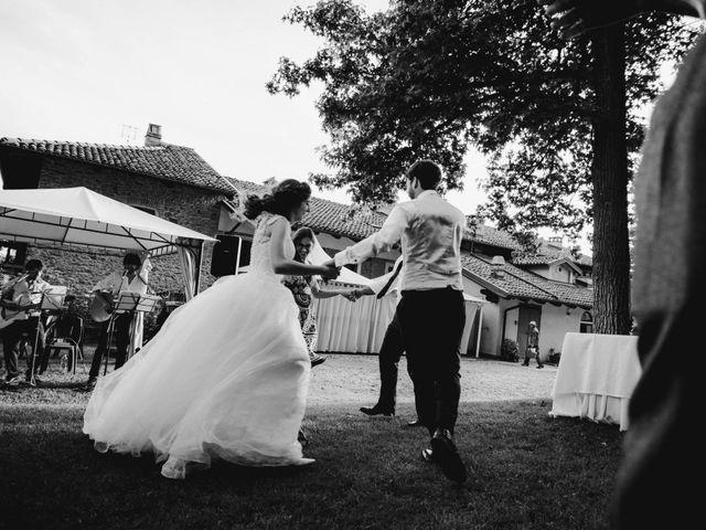 Il matrimonio di Riccardo e Elisa a Roppolo, Biella 63