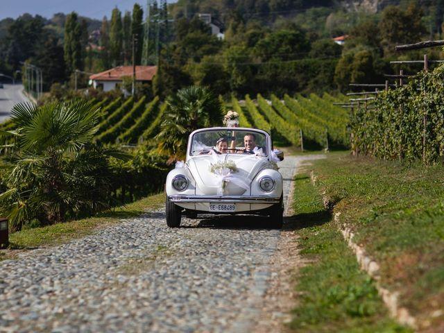 Il matrimonio di Fabio e Laura a Viverone, Biella 25