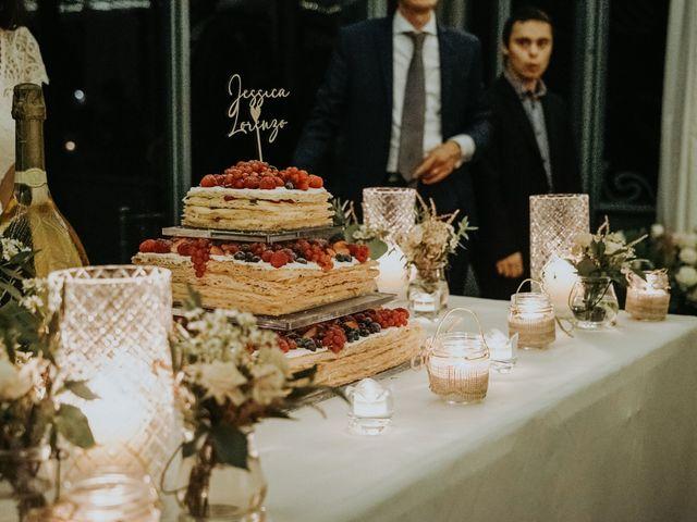 Il matrimonio di Lorenzo e Jessica a Clivio, Varese 40
