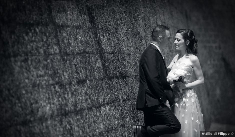 Il matrimonio di Massimo e Valentina a Ciampino, Roma