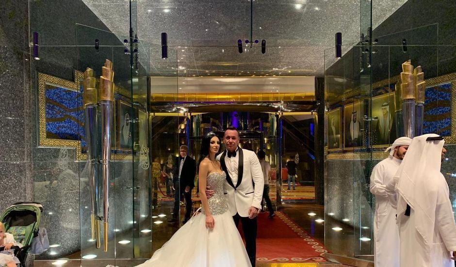 Il matrimonio di Daniele  e Elisa a Dubai a Ceprano, Frosinone