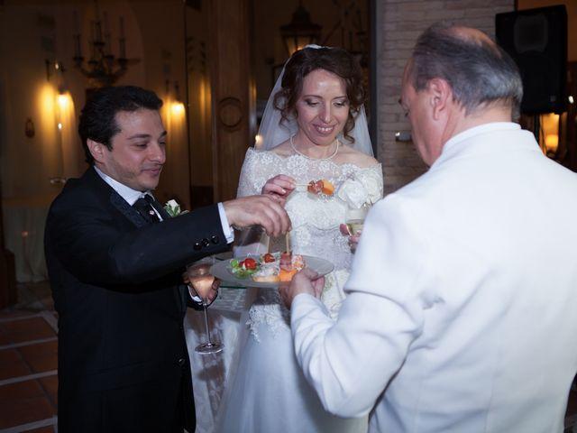 Il matrimonio di Francesco e Raffaella a Loreto Aprutino, Pescara 63