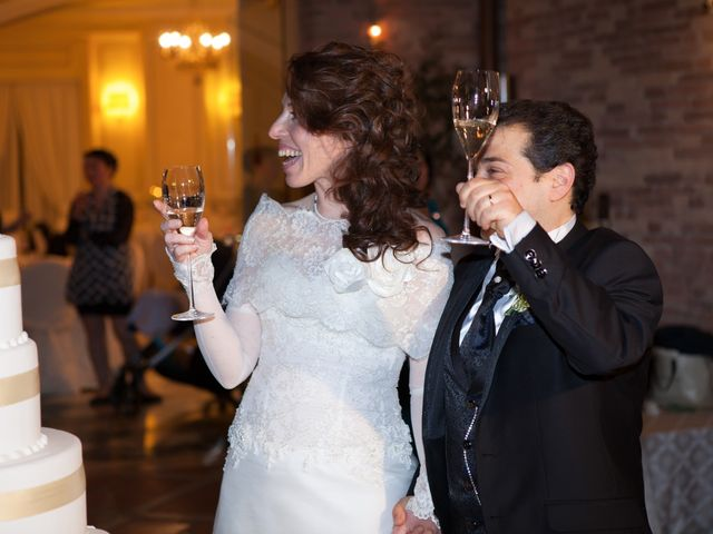 Il matrimonio di Francesco e Raffaella a Loreto Aprutino, Pescara 74