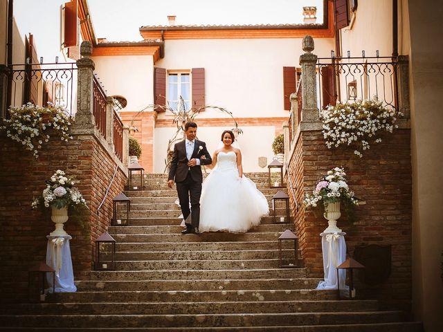 Il matrimonio di Davide e Sara a Poggio Berni, Rimini 29
