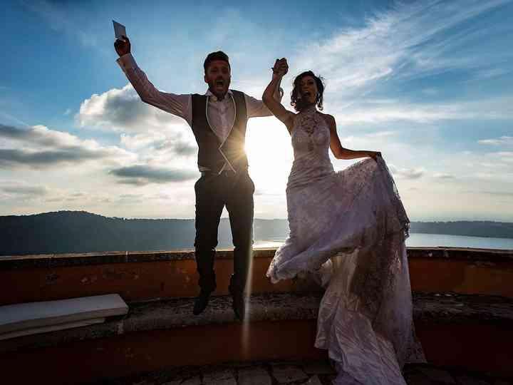 le nozze di Alessia e Riccardo