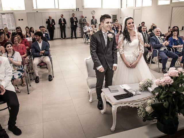 Il matrimonio di Alessio e Alessia a Martinengo, Bergamo 53