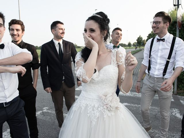 Il matrimonio di Alessio e Alessia a Martinengo, Bergamo 107