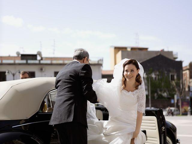 Il matrimonio di Francesco e Claudia a San Giovanni la Punta, Catania 13