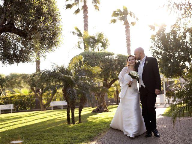 Il matrimonio di Francesco e Claudia a San Giovanni la Punta, Catania 25