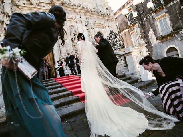 Il matrimonio di Giuseppe e Raffaella a Acireale, Catania 34