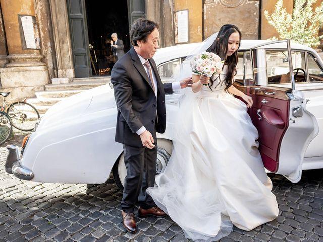 Il matrimonio di Roberto e Ying a Roma, Roma 34