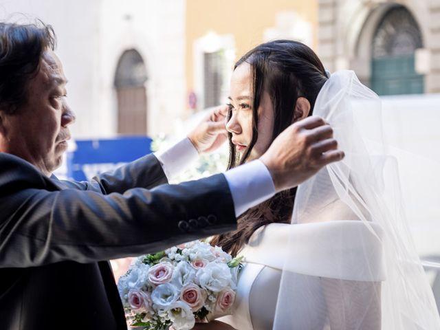 Il matrimonio di Roberto e Ying a Roma, Roma 36