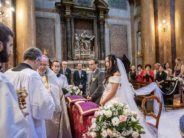 Il matrimonio di Roberto e Ying a Roma, Roma 40