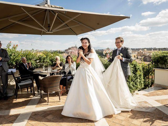 Il matrimonio di Roberto e Ying a Roma, Roma 50