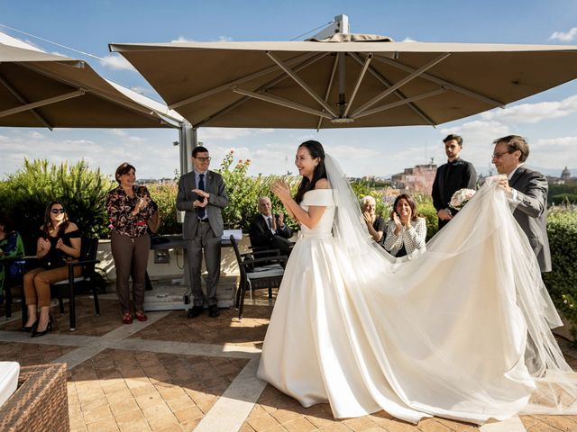Il matrimonio di Roberto e Ying a Roma, Roma 51