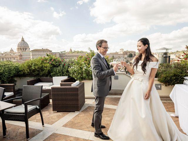 Il matrimonio di Roberto e Ying a Roma, Roma 52