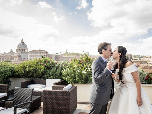Il matrimonio di Roberto e Ying a Roma, Roma 53