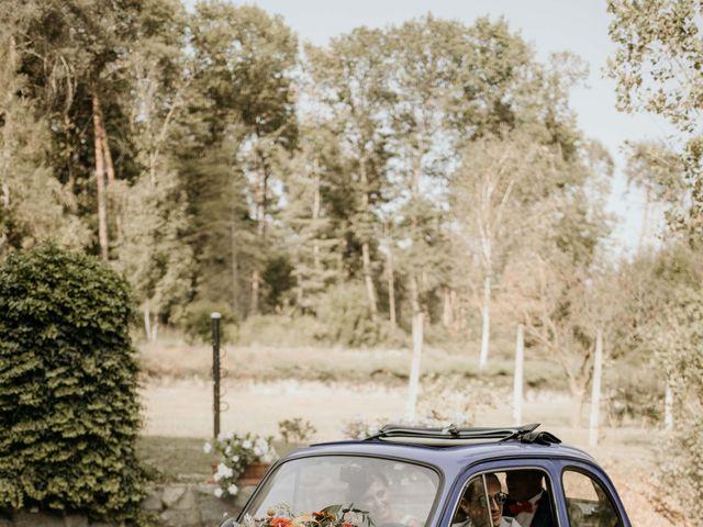 Il matrimonio di Mattia e Ambra a Vergiate, Varese 22