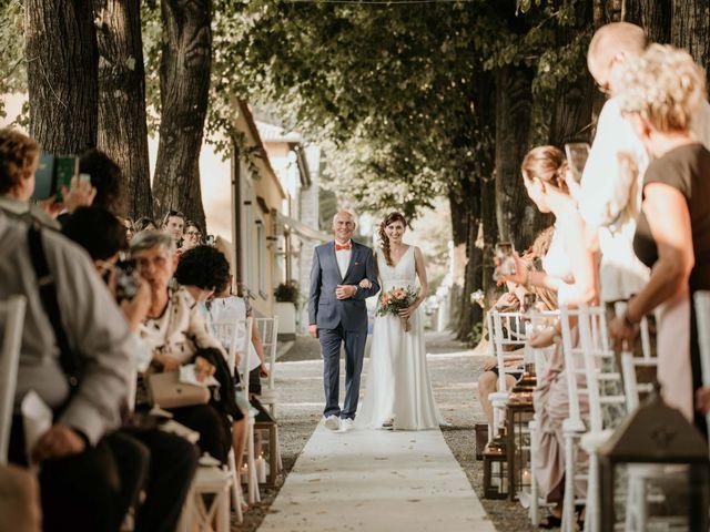 Il matrimonio di Mattia e Ambra a Vergiate, Varese 26