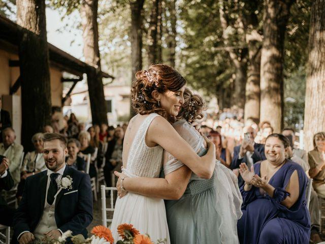 Il matrimonio di Mattia e Ambra a Vergiate, Varese 34