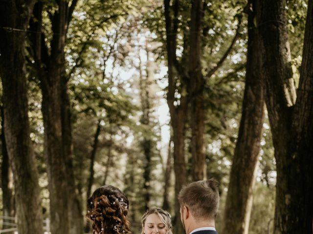 Il matrimonio di Mattia e Ambra a Vergiate, Varese 35