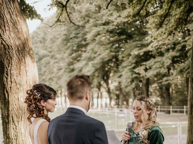 Il matrimonio di Mattia e Ambra a Vergiate, Varese 36