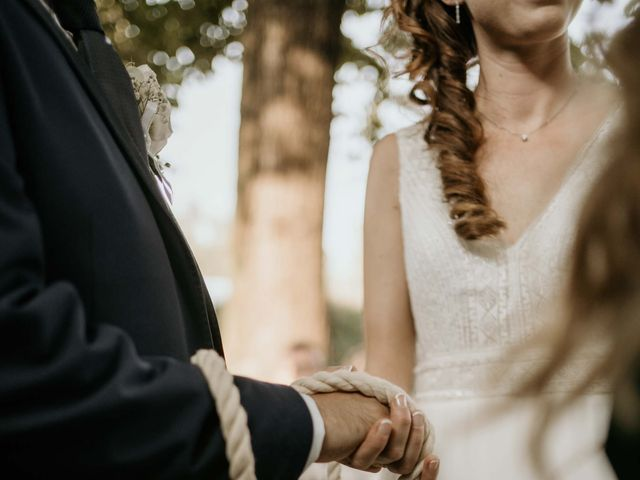 Il matrimonio di Mattia e Ambra a Vergiate, Varese 37