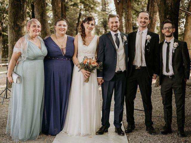 Il matrimonio di Mattia e Ambra a Vergiate, Varese 42