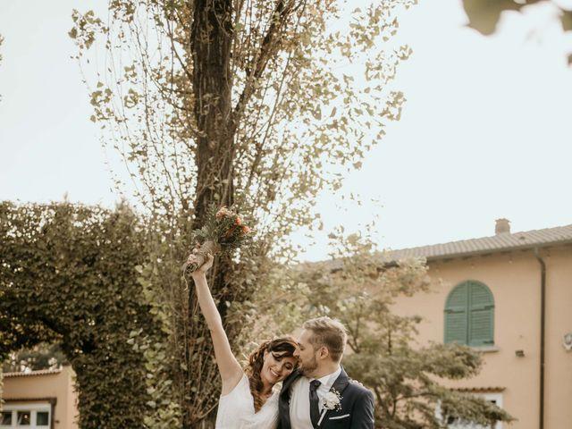 Il matrimonio di Mattia e Ambra a Vergiate, Varese 50