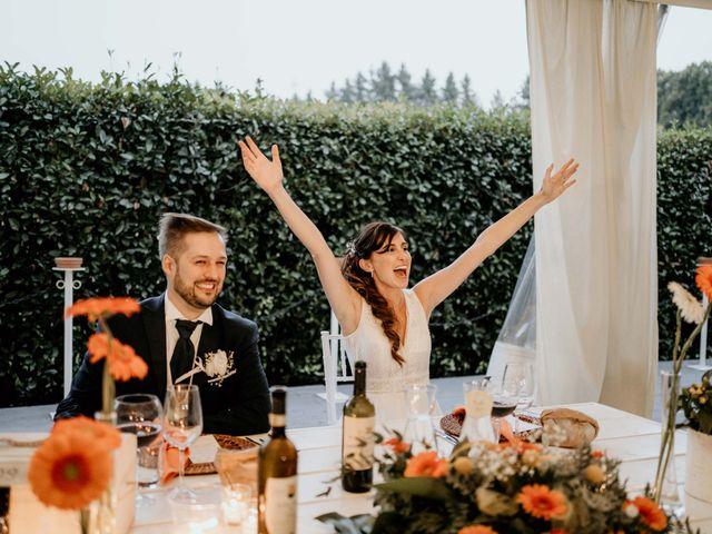 Il matrimonio di Mattia e Ambra a Vergiate, Varese 54
