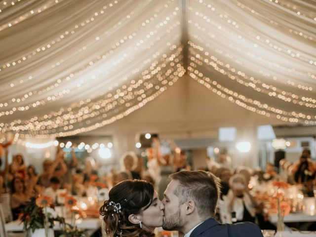 Il matrimonio di Mattia e Ambra a Vergiate, Varese 55