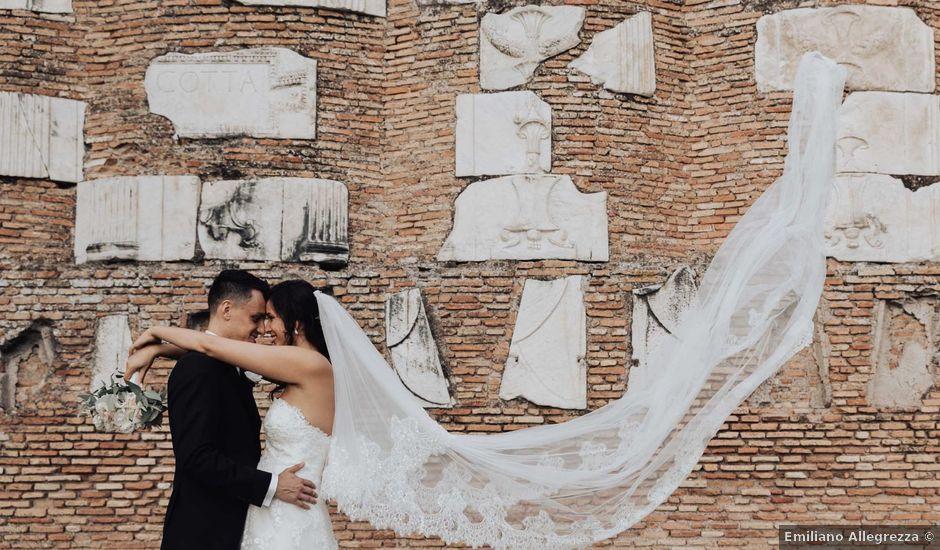 Il matrimonio di Simone e Chiara a Roma, Roma