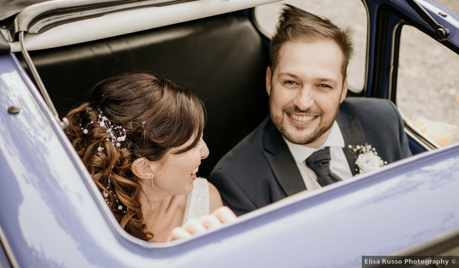 Il matrimonio di Mattia e Ambra a Vergiate, Varese