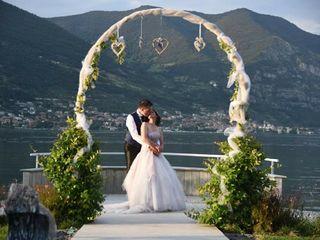 Le nozze di Alessandra  e Erich