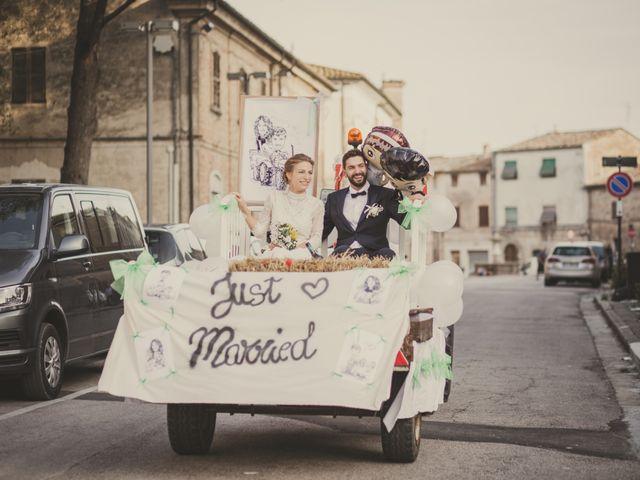 Il matrimonio di Alessandro e Marta a San Lorenzo in Campo, Pesaro - Urbino 71